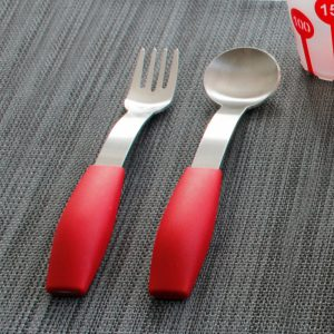 Lepel en vork verdikker